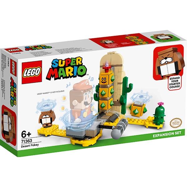 LEGO Mario: Set de extindere Desert Pokey 71363, 6 ani+, 180 piese