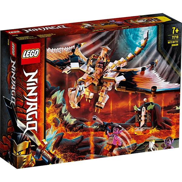 LEGO Ninjago: Dragonul de lupta al lui Wu 71718, 7 ani+, 321 piese