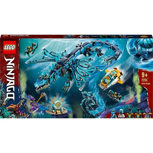 LEGO Ninjago: Dragon de apa 71754, 9 ani+, 737 piese