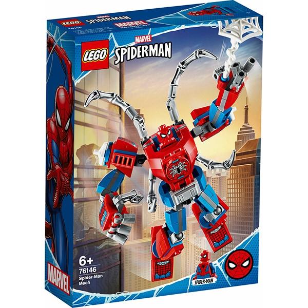 LEGO Super Heroes: Robot Spider Man 76146, 6 ani+, 152 piese
