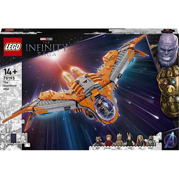 LEGO Super Heroes: Nava Gardienilor 76193, 14 ani+, 1901 piese