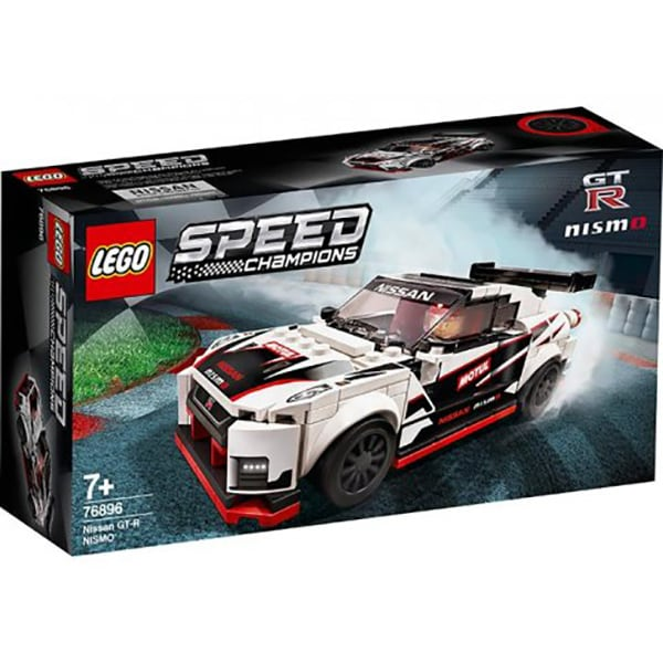 LEGO Speed Champions: Nissan GT-R NISMO 76896, 7 ani+, 298 piese