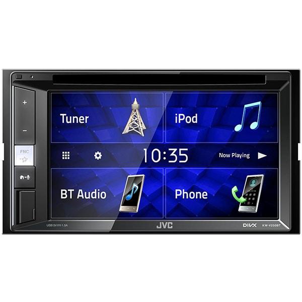 """Media receiver auto JVC KW-V250BT, 6.2"""" Touch, 4 x 50W, Bluetooth, USB"""