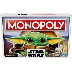 Joc de societate MONOPOLY The Child Baby Yoda F2013, 8 ani+, 2-6 jucatori