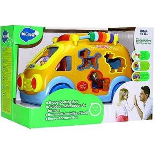 Jucarie interactiva HOLA Camioneta cu forme, sunete si lumini 988, 12 luni+, multicolor