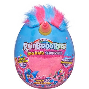 Jucarie de plus RAINBOCORNS Big Hair Surprise ZR9213, 3 ani+, multicolor