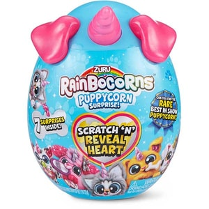 Jucarie de plus RAINBOCORNS Puppycorn Surprise ZR9237, 3 ani+, multicolor