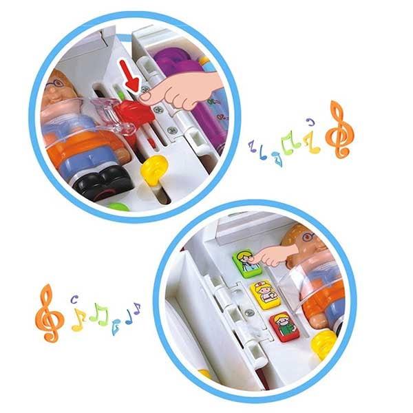 Jucarie interactiva HOLA Ambulanta muzicala cu functiuni, 836, 3 ani+, multicolor