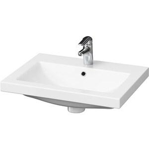 Chiuveta baie CERSANIT COMO 60, montare incorporabila, 60 x 45 cm, alb