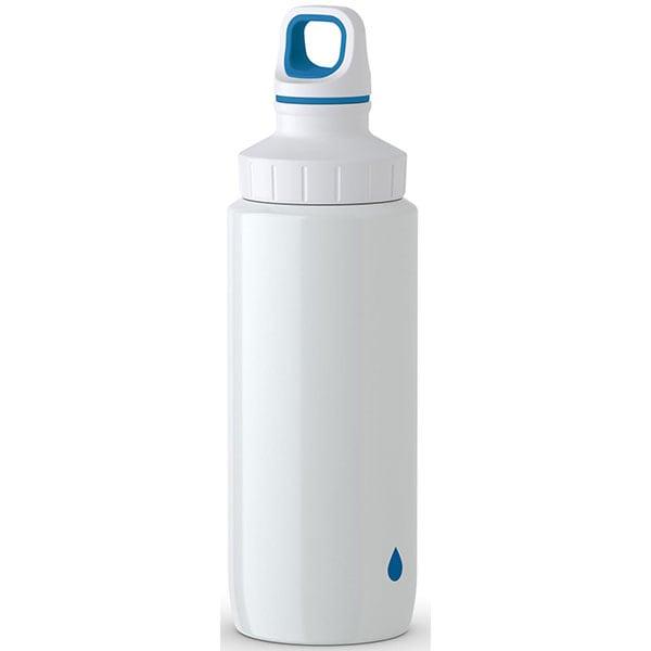 Sticla termos pentru copii TEFAL Light Steel K3194312, 0.6l, inox, alb-albastru