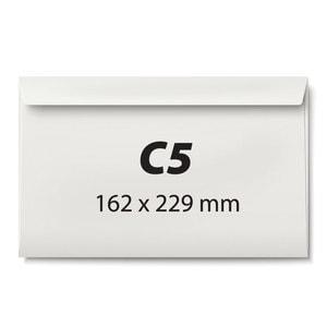 Plic corespondenta siliconic VOLUM, C5, 500 bucati