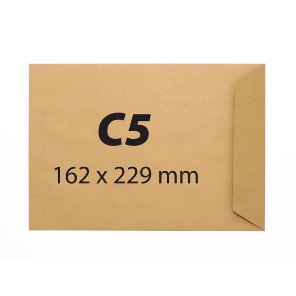 Plic pentru documente siliconic VOLUM, C5, 500 bucati