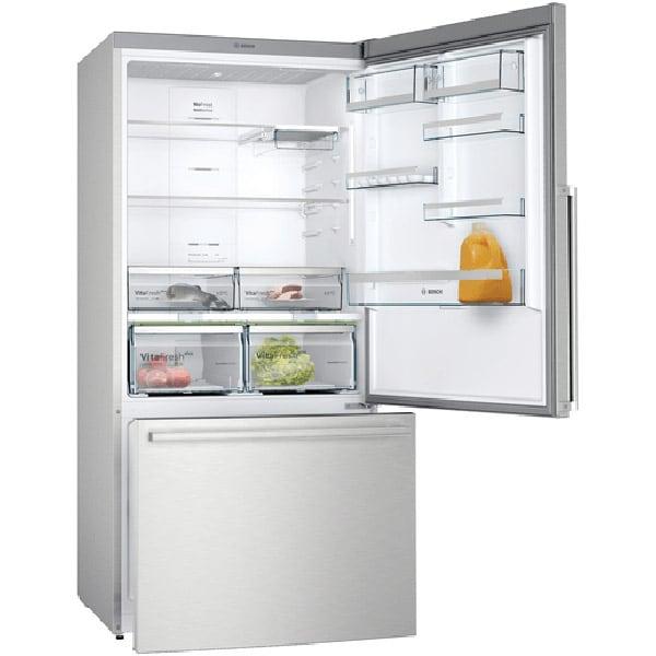 Combina frigorifica BOSCH KGB86AIFP, No Frost, 631 l, H 186 cm, Clasa F, inox