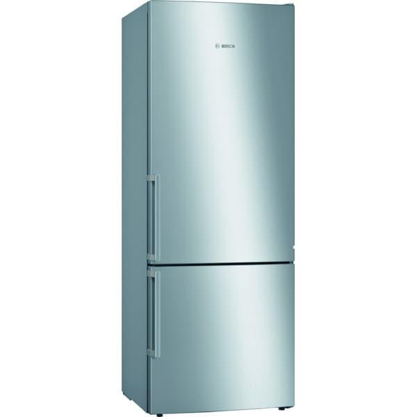 Combina frigorifica BOSCH KGE584ICP, 503 l, H 191 cm, Clasa C, inox