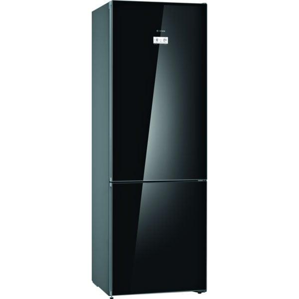 Combina frigorifica BOSCH KGN49LBEA, No Frost, 438 l, H 203 cm, Clasa E, negru