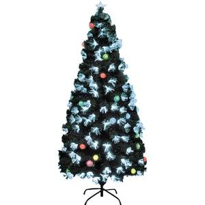 Brad artificial HOME KIX, iluminat integrat, glob EVA, 180 cm, verde