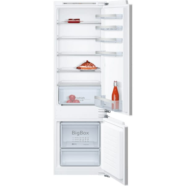 Combina frigorifica incorporabila NEFF KI5872FF0, 272 l, H 177.2 cm, Clasa F, inox