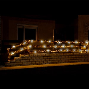 Ghirlanda luminoasa HOME KKL200F/WH, 200 led-uri, 20m