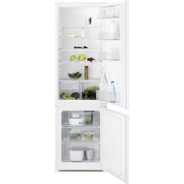Combina frigorifica incorporabila ELECTROLUX KNT2LF18S, Static low frost, 267 l, H 177.2 cm, Clasa F, alb