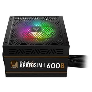 Sursa de alimentare GAMDIAS Kratos  M1 600B RGB, 600W, 120mm, KRATOS-M1-600B