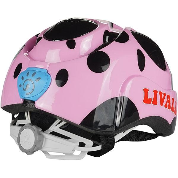 Casca ciclism pentru copii LIVALL KS2, 50-56cm, negru-roz