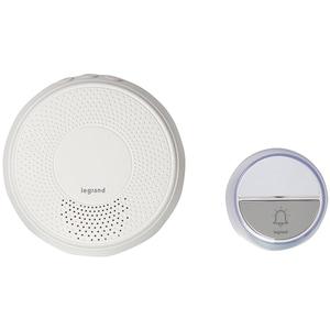 Sonerie wireless LEGRAND Comfort, 230V, 100m, alb
