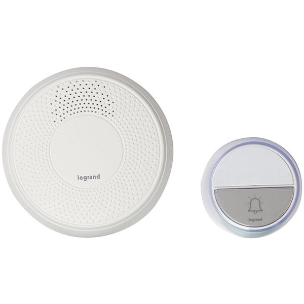 Sonerie wireless LEGRAND Comfort, 100m, alb