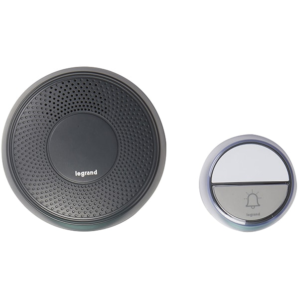 Sonerie wireless LEGRAND Comfort, 100m, negru