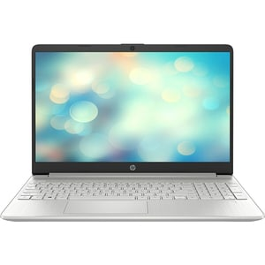 "Laptop HP 15s-fq1035nq, Intel Core i7-1065G7 pana la 3.9GHz, 15.6"" Full HD, 16GB, SSD 512GB, Intel Iris Plus Graphics, Free DOS, argintiu"