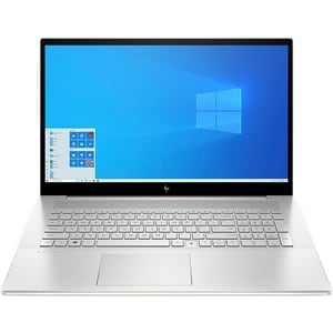 "Laptop HP Envy 17-cg0001nq, Intel Core i5-1035G1 pana la 3.6GHz, 17.3"" Full HD, 16GB, HDD 1TB + SSD 256GB, NVIDIA GeForce MX330 2GB, Windows 10 Home, argintiu"