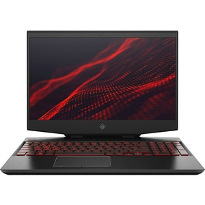 "Laptop Gaming HP Omen 15-dh0000nq, Intel Core i7-9750H pana la 4.5GHz, 15.6"" Full HD, 16GB, HDD 1TB + SSD 256GB, NVIDIA GeForce RTX 2060 6GB, Free Dos, negru"