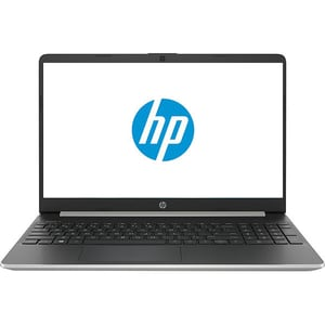 "Laptop HP 15s-fq1001nq, Intel Core i3-1005G1 pana la 3.4GHz, 15.6"" HD, 4GB, SSD 256GB, Intel UHD Graphics, Free Dos, argintiu"