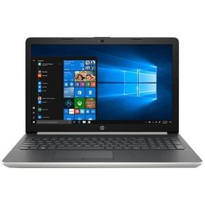"Laptop HP 15-db1021nq, AMD Ryzen 3-3200U pana la 3.5GHz, 15.6"" Full HD, 8GB, SSD 512GB, AMD Radeon Vega 3, Windows 10 Home, argintiu"