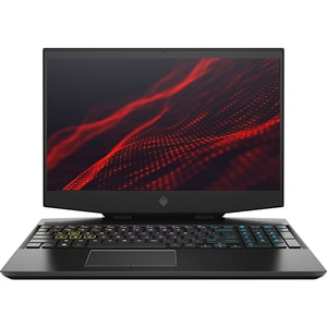 "Laptop Gaming HP Omen 15-dh0018nq, Intel Core i9-9880H pana la 4.8GHz, 15.6"" Full HD, 16GB, SSD 512GB, NVIDIA GeForce RTX 2080 Max-Q 8GB, Free Dos, negru"