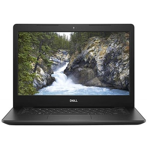 "Laptop DELL Vostro 3480, Intel Core i3-8145U pana la 3.9GHz, 14"" HD, 4GB, 1TB, Intel UHD Graphics 620, Ubuntu, negru"