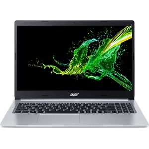 "Laptop ACER Aspire 5 A515-54G-5972, Intel Core i5-10210U pana la 4.1GHz, 15.6"" Full HD, 8GB, SSD 512GB, NVIDIA GeForce MX250 2GB, Linux, argintiu"