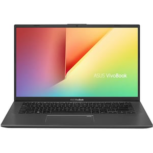 "Laptop ASUS VivoBook 14 X412FA-EB025, Intel Core i3-8145U pana la 3.9GHz, 14"" Full HD, 8GB, SSD 256GB, Intel UHD Graphics 620, Endless, gri"