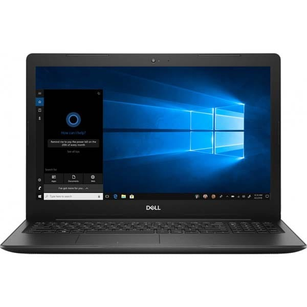 """Laptop DELL Vostro 3580, Intel Core i7-8565U pana la 4.6GHz, 15.6"""" Full HD, 8GB, SSD 256GB, AMD Radeon 520 Graphics 2GB, Windows 10 Pro, negru"""