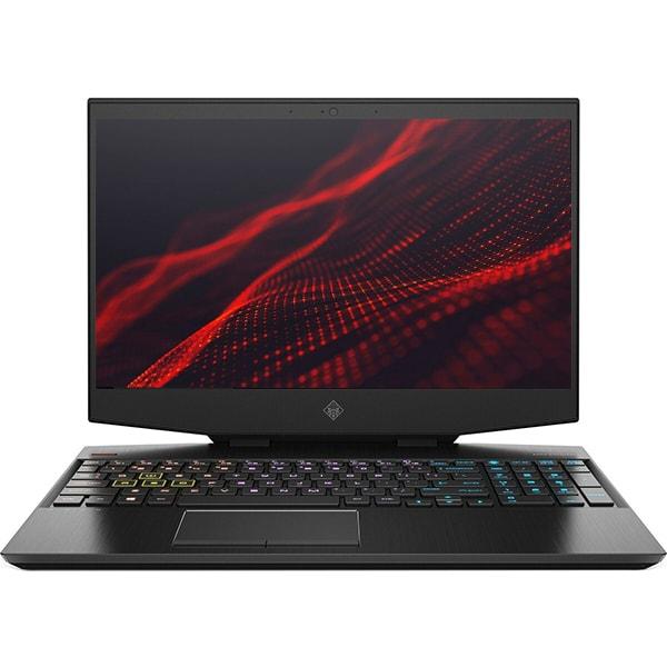 "Laptop Gaming HP Omen 15-dh0011nq, Intel Core i7-9750H pana la 4.5GHz, 15.6"" 4K, 16GB, SSD 512GB + HDD 1TB, NVIDIA GeForce RTX 2070 Max-Q 8GB, Free DOS, negru"