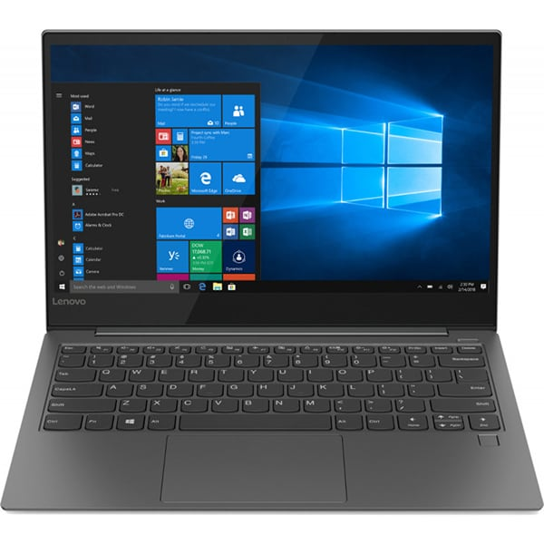 "Laptop LENOVO Yoga S730-13IWL, Intel Core i5-8265U pana la 3.9GHz, 13.3"" Full HD, 8GB, SSD 512GB, Intel UHD Graphics 620, Windows 10 Home, gri"