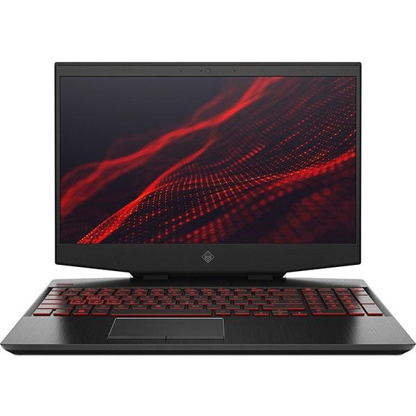"Laptop Gaming HP Omen 15-dh0013nq, Intel Core i7-9750H pana la 4.5GHz, 15.6"" Full HD, 16GB, 1TB, NVIDIA GeForce RTX 2080 Max-Q 8GB, Free Dos, negru"
