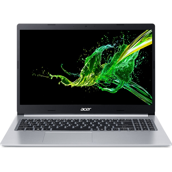 "Laptop ACER Aspire 5 A515-54-356J, Intel Core i3-8145U pana la 3.9GHz, 15.6"" Full HD, 4GB, SSD 256GB, Intel UHD Graphics 620, Linux, argintiu"