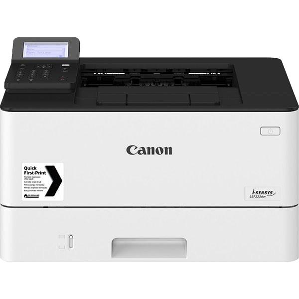Imprimanta laser monocrom CANON i-SENSYS LBP223dw, A4, USB, Retea, Wi-Fi