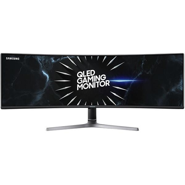"Monitor Gaming curbat SAMSUNG LC49RG90SSUXEN, 49"", Dual QHD, 120Hz, HDR FreeSync, negru"