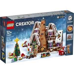 LEGO Creator Expert: Gingerbread House 10267, 12 ani+, 1477 piese