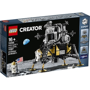 LEGO Creator Expert: NASA Apollo 11 Lunar Lander 10266, 16 ani+, 1087 piese