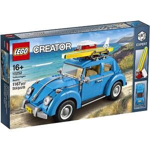 LEGO Creator Expert: Volkswagen Beetle 10252, 16 ani+, 1167 piese
