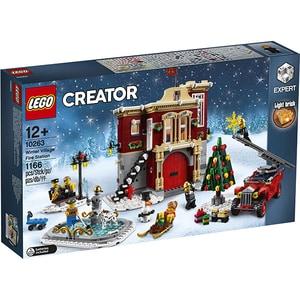 LEGO Creator Expert: Winter Village Fire Station 10263, 12 ani+, 1166 piese