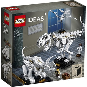 LEGO Ideas: Dinosaur Fossils 21320, 16 ani+, 910 piese