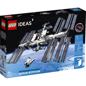 LEGO Ideas: International Space Station 21321, 16 ani+, 864 piese